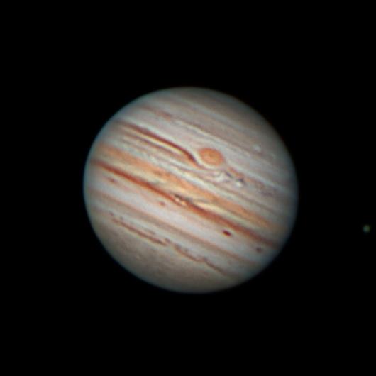 Юпитер 18 сентября - астрофотография