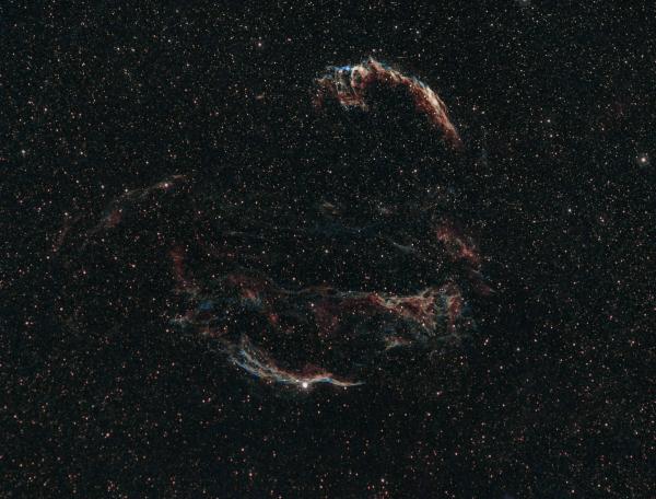 Туманность Вуаль  - астрофотография