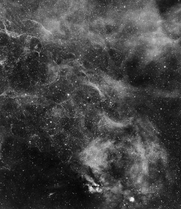 Vela region. H-alpha - астрофотография