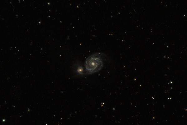 M 51 - астрофотография