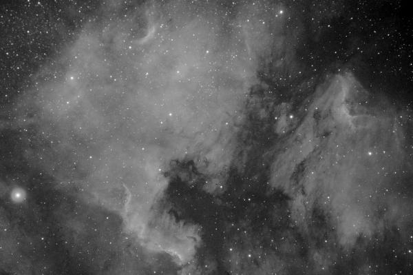 NGC7000 и IC5070 - астрофотография