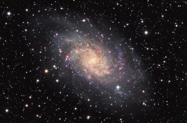 M 33 (вторая версия) - астрофотография