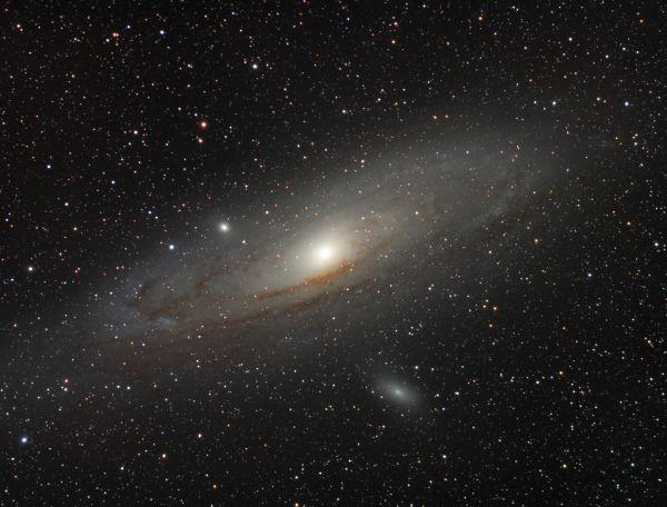M31. Галактика Андромеда. - астрофотография