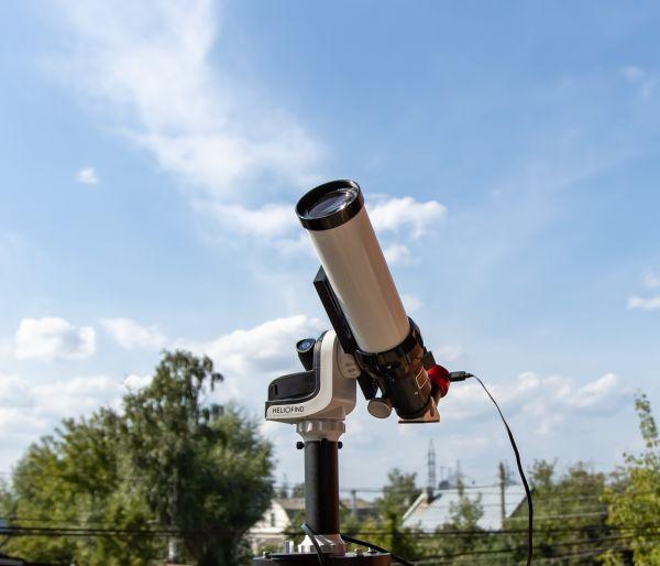 Lunt LS60T CaK - астрофотография