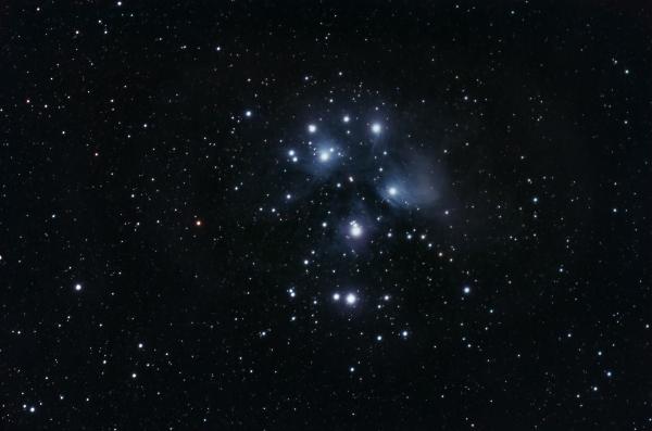 Pleiades M45 - астрофотография