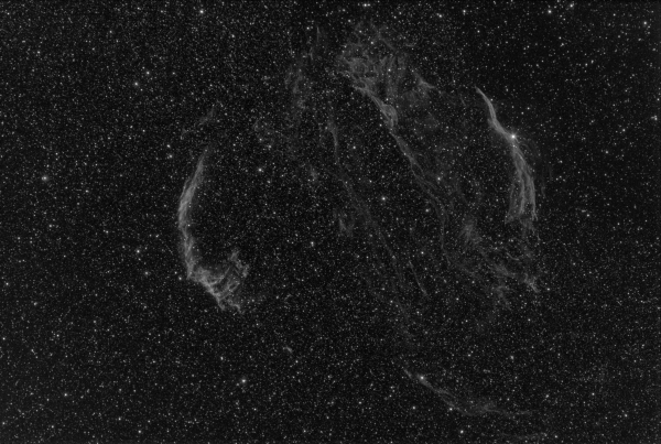 OXYGEN IN VEIL NEBULA - астрофотография