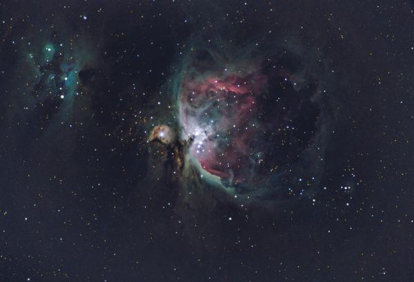 M42 - Orion Nebula - астрофотография