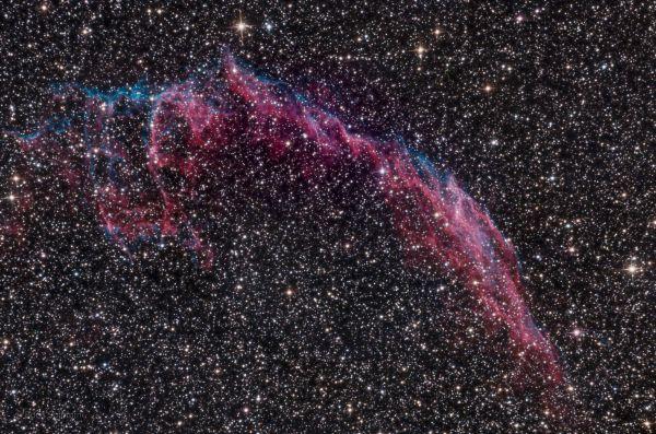 NGC6992. PixInsight. First try.  - астрофотография
