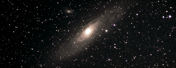 Андромеда за дня 09.08.21 и 14.08.2021 - астрофотография