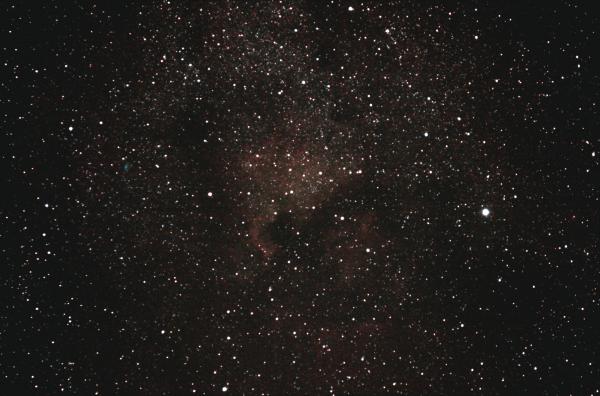 Эмиссионные туманности Северная Америка и Пеликан в созвездии Лебедь. 15.09.2020 - астрофотография