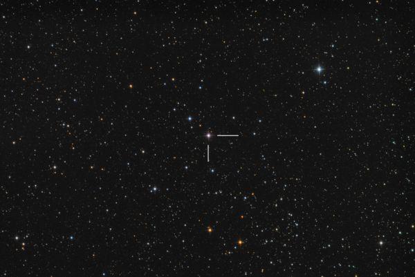Новая N Cas 2021 - астрофотография
