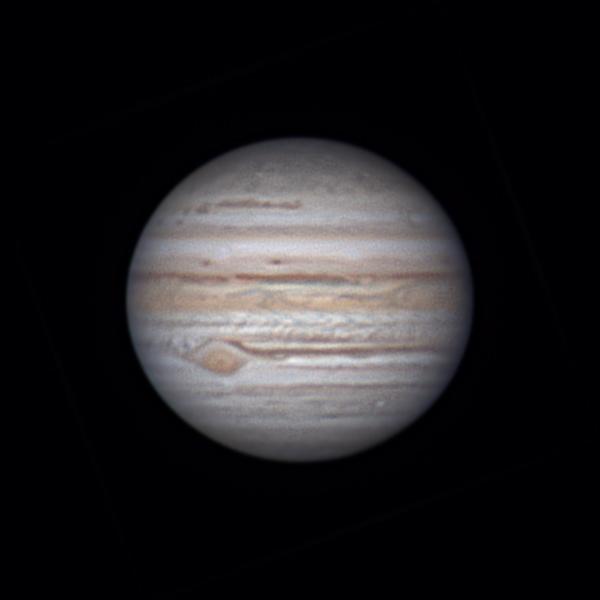Юпитер 26.07.2021 02:06 МСК - астрофотография