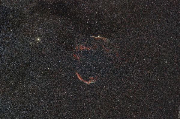 Veil Nebula. September 2, 2019. - астрофотография