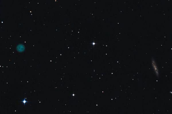 M97, M108 - астрофотография