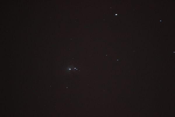 М42. Большая туманность Ориона - астрофотография