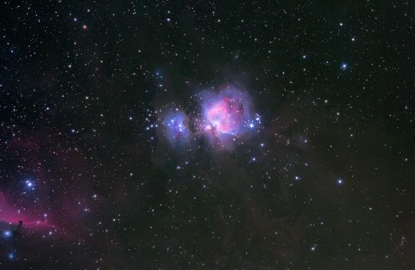 The Orion Nebula & The Horsehead Nebula - астрофотография
