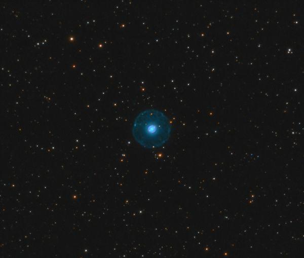 The Blinking Nebula, NGC 6826 (Caldwell 15, PK 83+12.1) - астрофотография