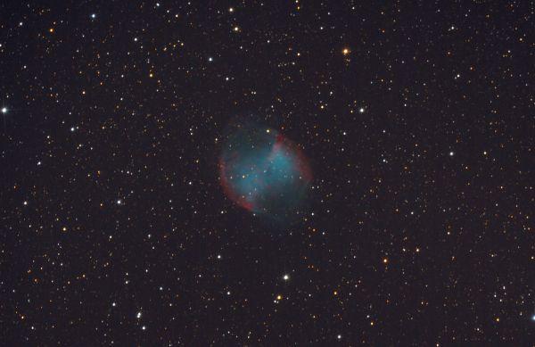 M 27 - астрофотография