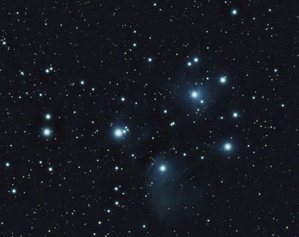 M45 Плеяды - астрофотография