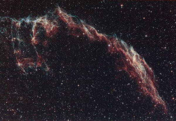 NGC 6992, 6992 Вуаль 150810 - астрофотография