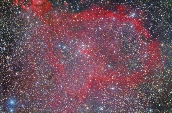IC 1805 Сердце - астрофотография