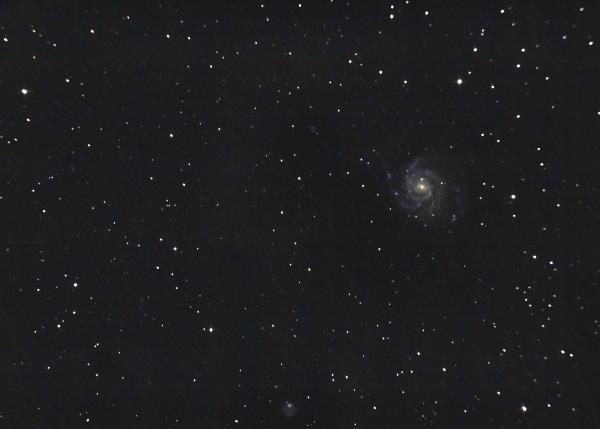ГАЛАКТИКА ВЕРТУШКА M101. 16.05.2021 - астрофотография