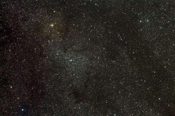 IC 1396 &  μ Cephei - астрофотография