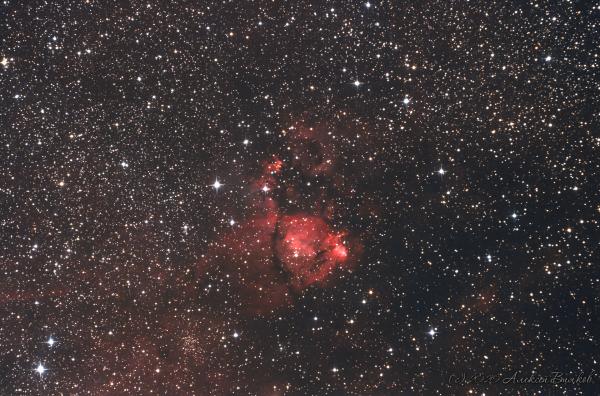 IC1795 aka The Fishhead Nebula - астрофотография