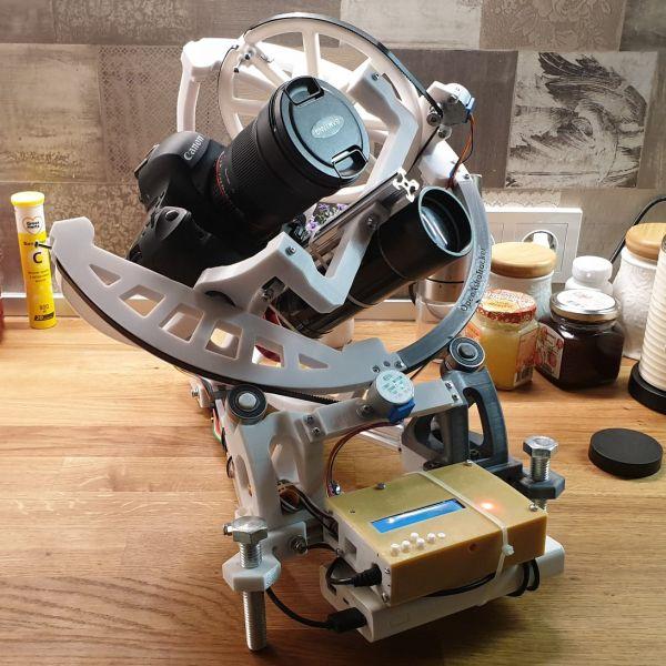 Шайтан машинка - OpenAstroTracker - астрофотография