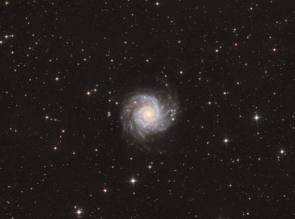 Messier 74 - астрофотография