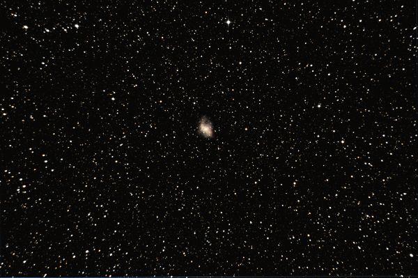 M1 Crab Nebula - астрофотография