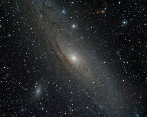 Андромеда  - астрофотография