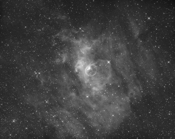 NGC 7635 - астрофотография