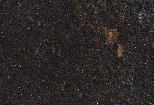 Млечный Путь в Кассиопеи - астрофотография
