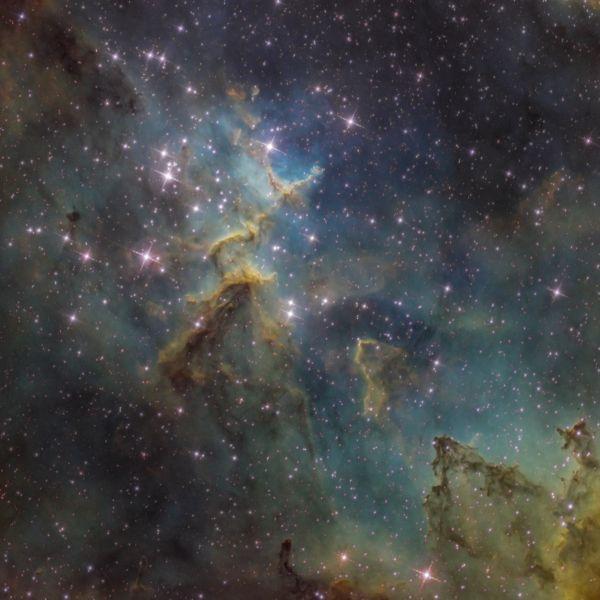 Melott 15 - SHO - астрофотография