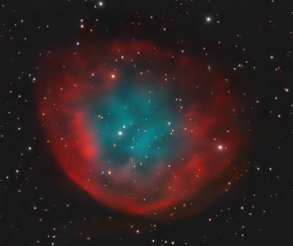 Abell 31 (PK 219 + 31.1 or Sharpless 290) - астрофотография