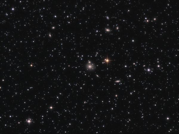 NGC 507 - Elliptical/Spiral Galaxy lrgb - астрофотография