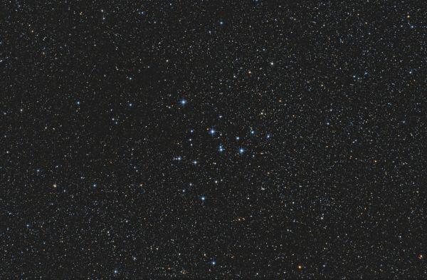 Open cluster M39 - астрофотография