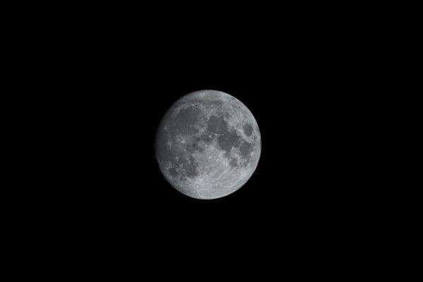 Луна--19.10.2021 - астрофотография