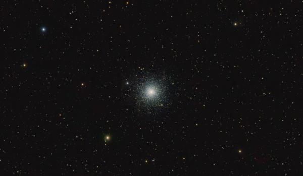 Шаровое звёздное скопление М3, финальная версия - астрофотография