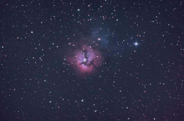 M20 - Trifid Nebula - астрофотография