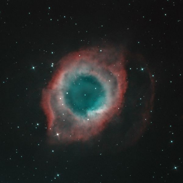 Helix nebula - астрофотография
