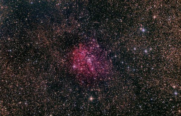 NGC 6820 - астрофотография