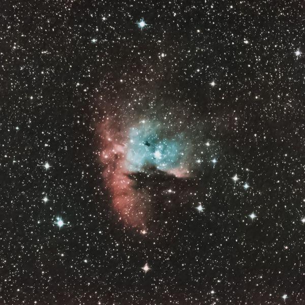 NGC 281 (Pak-Man) - астрофотография