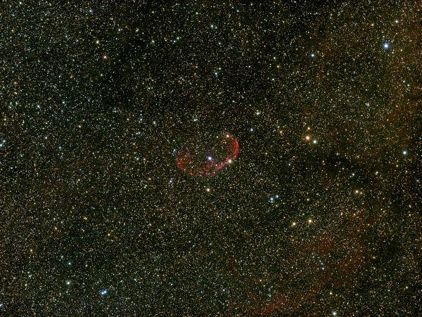 ngc6888-crescent-nebula - астрофотография
