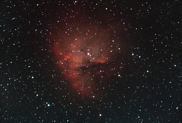 NGC281. Туманность Пакман. - астрофотография