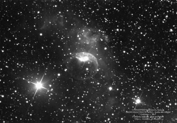 C11/NGC7635/Пузырь - астрофотография