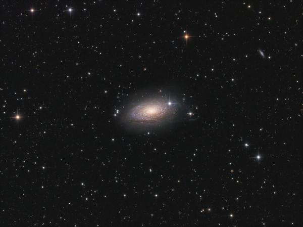 M 63 LRGB - астрофотография