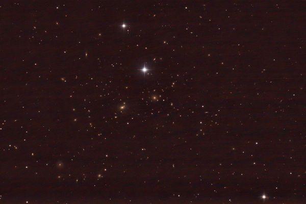 NGC 4874 - астрофотография