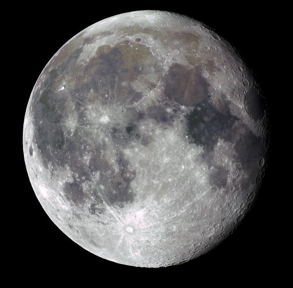 Луна. 22.10.2021 - астрофотография
